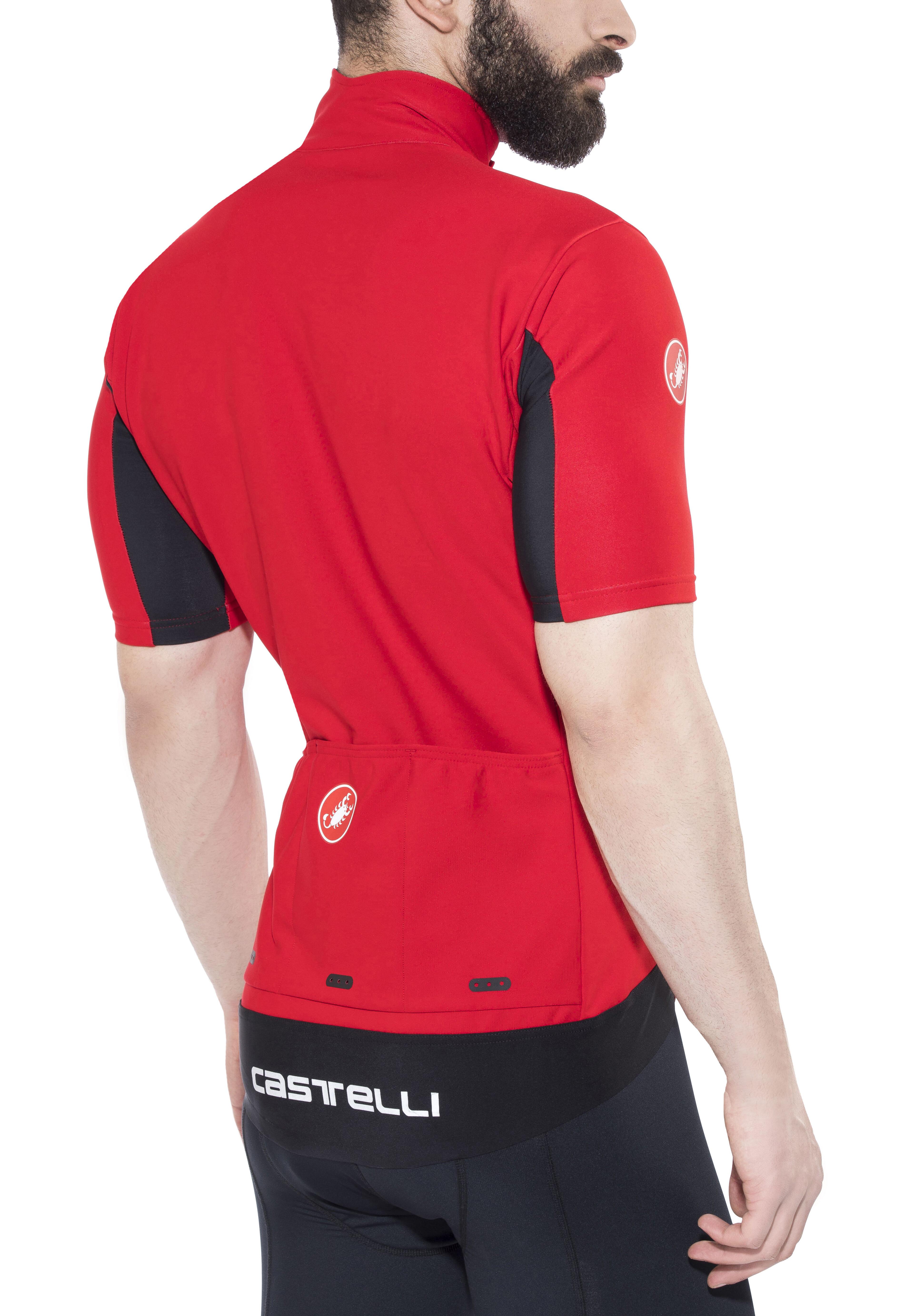 Castelli Gabba 3 Bike Jersey Shortsleeve Men red at Bikester.co.uk b69cda2ae